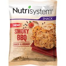 nutrisystem smoky bbq snack a rounds 1 2 oz pack of 8