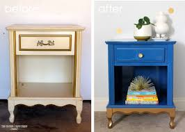 Blue And Gold Home Decor How Luxurious Designs Of Carving Gold Nightstand In The Bedroom