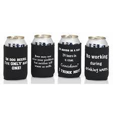 funny beer quote cozy set great gifts for beer lovers