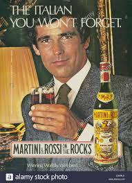 martini rossi 1980s usa martini u0026 rossi magazine advert stock photo royalty