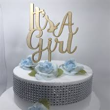 girl cake it is a boy girl cake topper baby shower birthday party