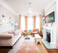 ideas and inspiration for organizing small living rooms