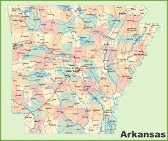 State Abbreviations Map by Arkansas State Maps Usa Maps Of Arkansas Ar