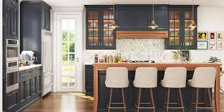 navy blue kitchen cabinets traditional style navy blue kitchen cabinet with island op18
