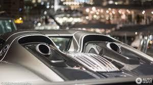 Porsche 918 Exhaust - porsche 918 spyder 24 august 2017 autogespot
