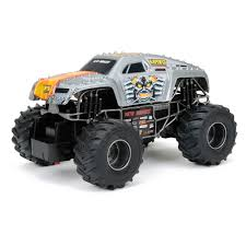 rc monster trucks grave digger new bright 1 24 scale r c monster jam max d walmart com