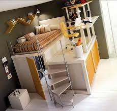 Loft Bed Frames Stylish Loft Bed Frame Glamorous Bedroom Design