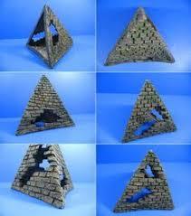 themed ancient ruin pyramid pharaoh sphinx fish tank