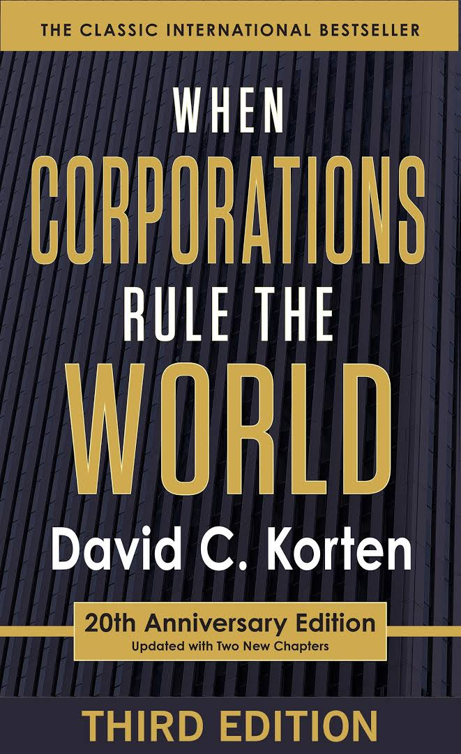 Image result for When Corporations Rule the World