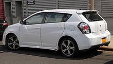 Pontiac Vibe Interior Dimensions Pontiac Vibe Wikipedia