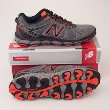 light trail running shoes new balance men s 810v2 trail running shoe mt810fw2 in light grey