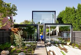 Laneway House Plans by Swanky Laneway House In Melbourne Is Built From Recycled Red Brick