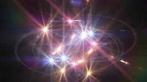 light swarm 0315 a cascade of shimmering sparkling lights loop