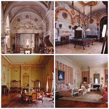 katie wanders the breakers newport rhode island main floor hallway by grand staircase billiards room green and gold room bedroom