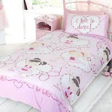 Bedding Sets Uk Ballet Duvet Covers White Swan Bedding Set For Bed