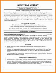 Operations Manager Resume 5 Retail Manager Resume Examples Forklift Resume