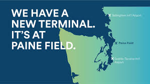 Seattle Tacoma Airport Map Alaska Airlines To Fly From Second Seattle Airport Paine Field In