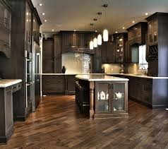 dark kitchen cabinets with light floors astonishing dark kitchen cabinets with light wood floors design