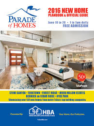 Interior Design Of Homes Parade Of Homes 2016 By Langdon Publishing Co Issuu