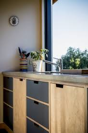 Kitchen Cabinets Particle Board Garage Storage Systems How To Paint Raw Particle Board Plywood