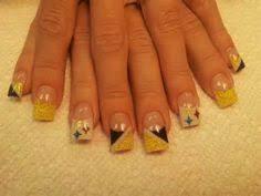 steeler nails pintrest steelers nails nails pinterest