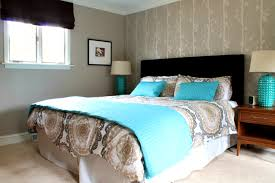 Brown Bedroom Ideas Turquoise Brown And Living Room Decor For Home Interior Ideas