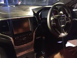 jeep 2016 inside jeep grand cherokee wrangler showcased at a private gathering in