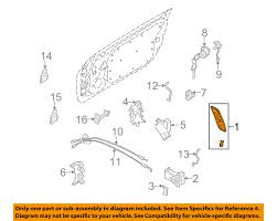 nissan 350z years to avoid nissan oem 03 09 350z outside door handle right 80606cd01e ebay
