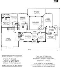Great Room Floor Plans Single Story 100 Great Room House Plans Craftsman House Plans Pacifica
