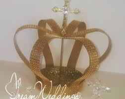 crown centerpieces etsy