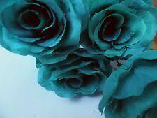 teal flowers teal flowers ebay