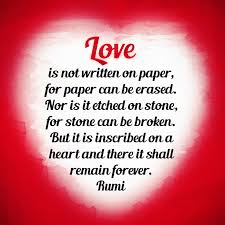 Rumi Memes - heart shaped love stones quotes