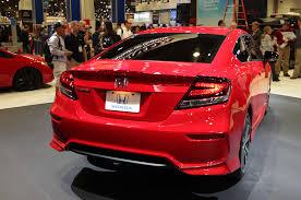 honda civic coupe lx vs ex modified 2014 honda civic coupes hit 2013 sema motor trend wot