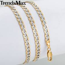 gold chain necklace men images Trendsmax gold chain necklace men women cuban link chains 2018 jpg