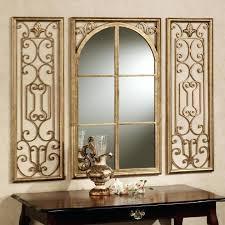 Wall Mirror Sets Decorative 3 Piece Starburst Small Decorative Wall Mirrors Set Small