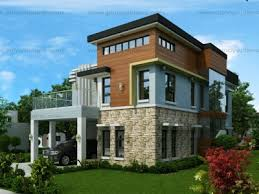 modern two house plans two storey house plans eplans
