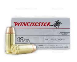 target ammunition remington black friday winchester 40 cal sw ammo 165 grain full metal jacket 500 round