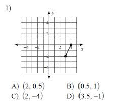 parallel lines and the coordinate plane the midpoint formula