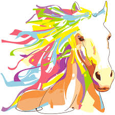 pop art horse wall decal 4 ambiance sticker col sand a009 jpg