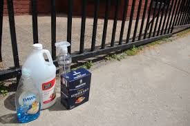 How To Remove Spray Paint From Concrete Patio How To Remove Stains From A Driveway Patio Or Concrete Surface