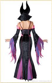 wholesale deluxe cosplay purple dress dark witch