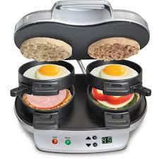 sandwich maker resume breakfast sandwich maker dual hot plate cook food countertop press image is loading breakfast sandwich maker dual hot plate cook food