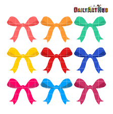 colorful ribbon colorful ribbons clip set daily hub free clip everyday