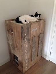 Decorative Cat Box Leuke Slaapplek Maken Voor De Poes Met Wijn Kistjes En Touw