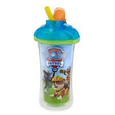 paw patrol lock insulated straw cup 9oz blue