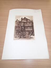 buy picturesque old bristol judge jefferies house plate 4 in