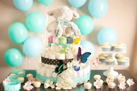 Decorating For A Baby Shower On A Budget How To Make A Diaper U0027cake U0027 For Baby Showers