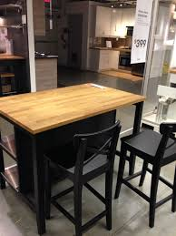 Kitchen Island Ikea Kitchen Furniture Ikea Stenstorp Kitchen Island Black For Sale