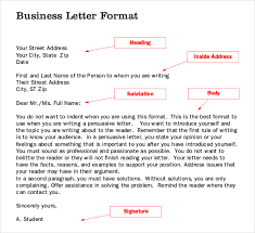 Business Letter Format Book Pdf Letter Writing Template 10 Free Word Pdf Documents