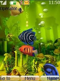 themes of java free java animated fish tank app download in themes wallpapers
